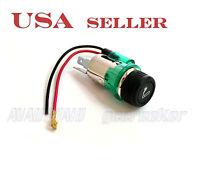 12vdc Car Cigarette Lighter & Socket With Led For Gm Chrysler Dodge Gs05 5110