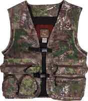 Ol' Tom Technical Turkey Gear Cotton Full Vest Ot2260 Choose Your Camo