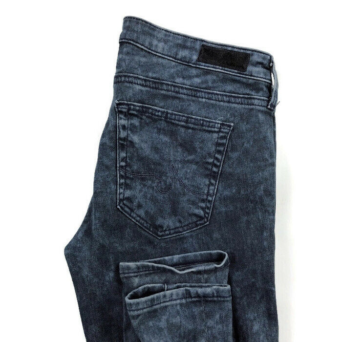 AG Adriano goldschmied Womens 27 The Absolute Legging Extreme Skinny Acid Jeans