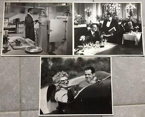 3-Photos-ROMANCE-A-TROIS-Fernand-Gravey-DENISE-GREY-Bernard-Blier-1942