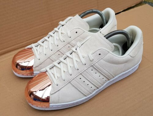 Daim Baskets Taille 6 80's En Or En Beige Métal Rose Superstar Adidas Uk nZwAxfq