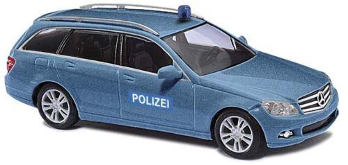 MB C-Klasse T »Polizei-Zivilfahrzeug« Spur H0  # NEU in OVP# BUSCH 43663