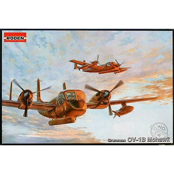Roden 410 Grumman OV1 B Mohawk 1 48 plastic scale aircraft model kit