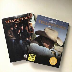 Yellowstone Season 1 2 Tv Series Complete First Second Dvd 8 Disc Set Region 1 Ebay