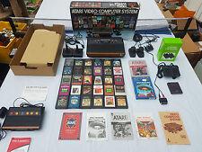 ATARI 2600 WOODY BOXED AV MODIFIED MINT 93 CLASSIC GAMES PLAY ON ANY TV!!