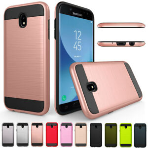 huge discount 33fed 7b8b3 Details about For Samsung Galaxy J2 Pro 2018 360 Full Cover Shockproof  Brush Hybrid Hard Case
