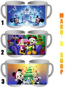 Joyeux Noel Mickey Tasse Détails Minnie Disney Merry Christmas Sur Mug 5RjL4A