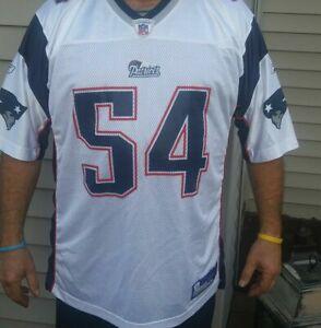 Reebok New England Patriots Tedy Bruschi Jersey white vintage size ...