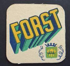 Ancien sous-bock FORST bière Bierdeckel coaster 1