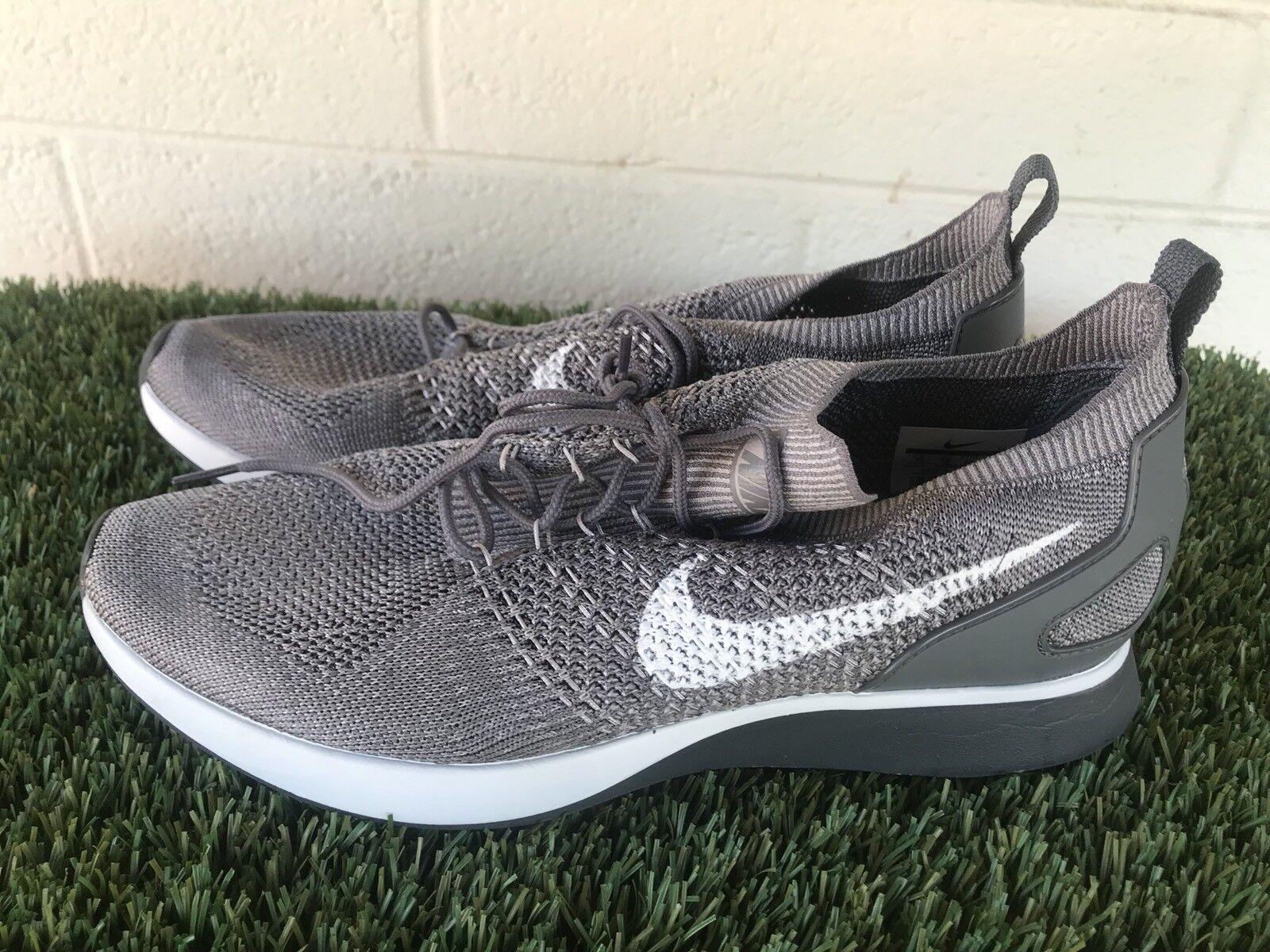 Uomo's Nike Air Zoom Mariah Flyknit Racer Running Shoes Size 11