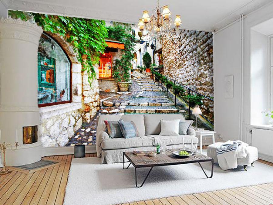 3D Romantische exotik 0834 Fototapeten Wandbild Fototapete BildTapete Familie DE