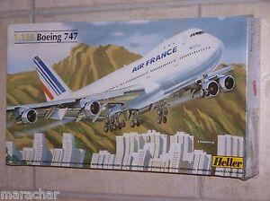 Maquette HELLER  1/125ème BOEING 747   n°80459