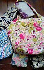 VERA BRADLEY & THIRTY ONE Lot- Purse Wallets Wristlets Lunch Bag Makeup Bag EUC