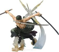 ONE PIECE - FIGURA RORONOA ZORO / BATTLE VERSIONE / roronoa zoro FIGURE 17cm