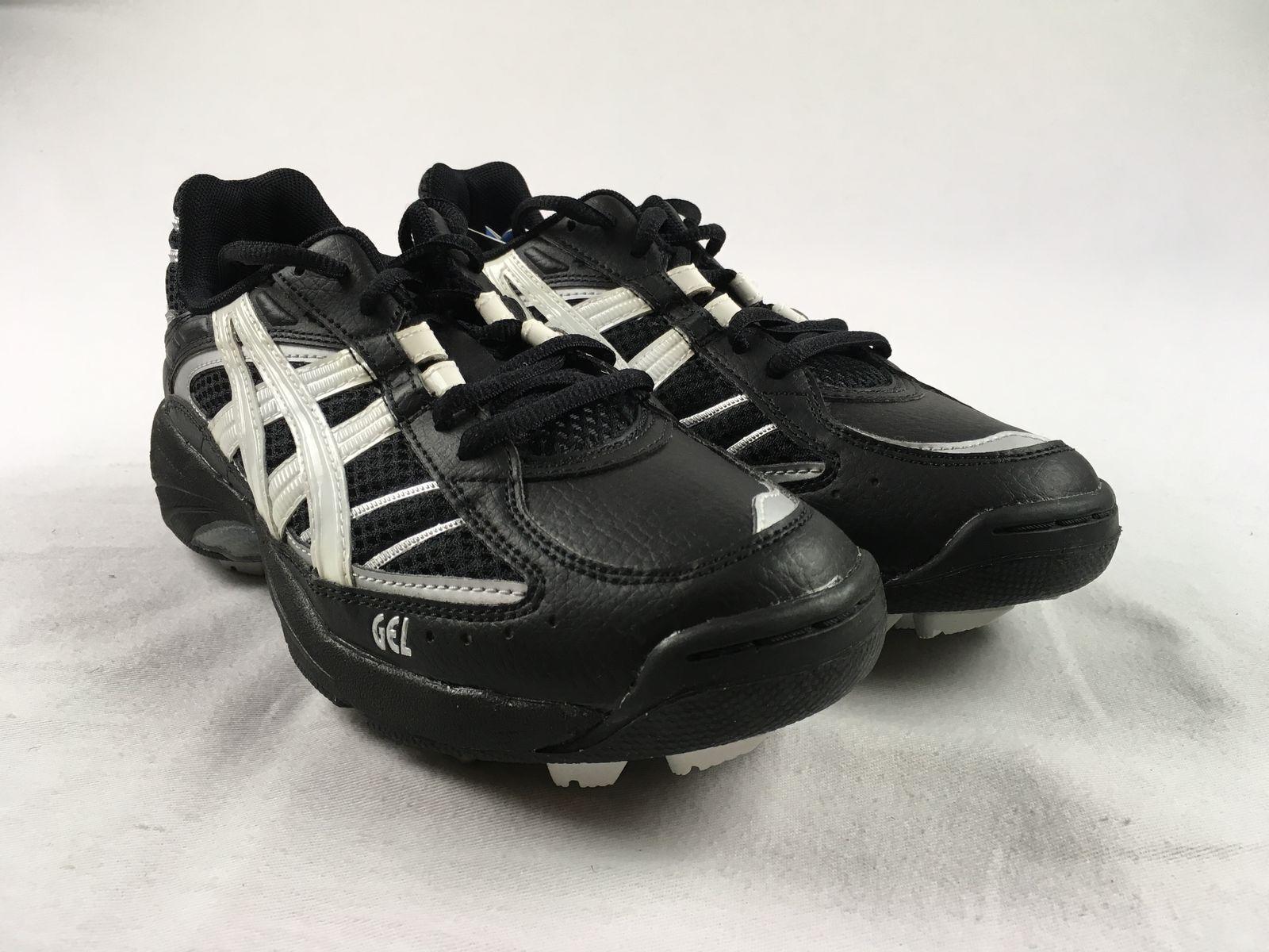 NEW Asics Asics Gel Hockey Black Heath - Black Cleats (Women's Multiple Sizes)