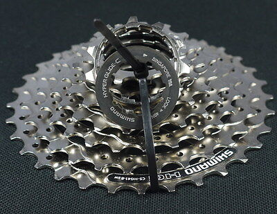 Cassettes, Freewheels & Cogs Expressive Shimano Cs Hg41-8 Cassette 11-32t Hg 41 8 Speed Mountain Mtb Suit Sram Shimano To Suit The PeopleS Convenience Cycling