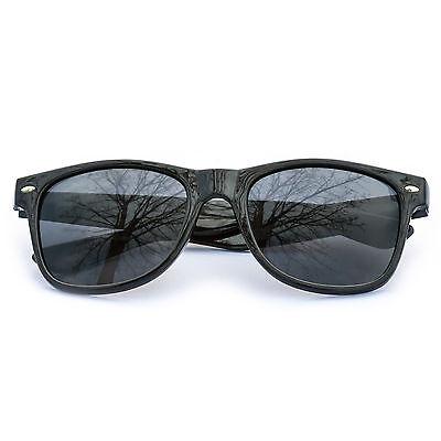 Sonnenbrillen Wayfarer Nerdbrille verspiegelt Brille Schwarz Silber Gold Blau