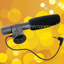 Stereo Microphone MIC /W 2.5mm Adapter Panasonic Lumix GH1 GX1 GF5 GF6 FZ200 GH4