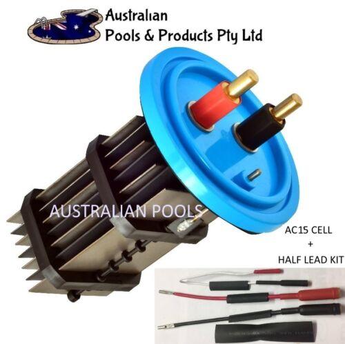 1//2 Lead Kit K-Chlor AUTOCHLOR AC15 Autochlor STD 15AMP Chlorinator salt Cell