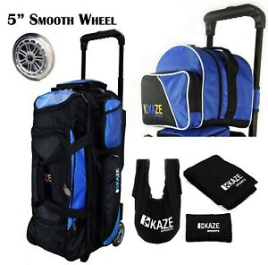 KAZE-SPORTS-3-Ball-Bowling-Roller-Smooth-Wheel-Add-On-Spare-Tote-Bag-Seesaw-4