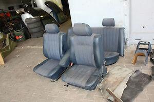Mercedes-W123-Innenausstattung-Sitze-KOMPLETT-orig-MB