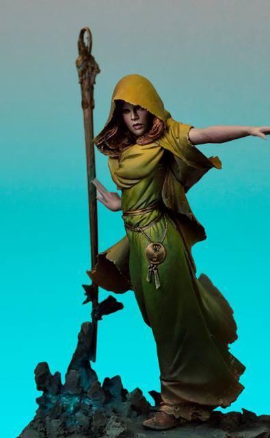 Heroes & Villains Morgana of Avalon Fantasy 70mm Unpainted resin kit