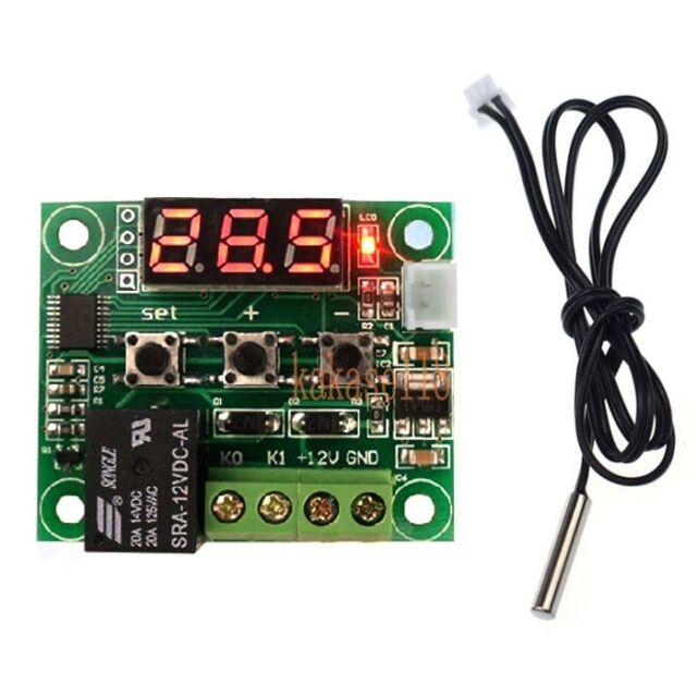 -50-110°C DC 12V Heat Cool Temp Thermostat Temperature Controler Switch + sensor