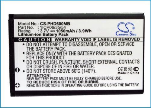 Batería De Alta Calidad Para Withings wbp01-Smart baay Monitor Premium Celular