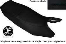 BLACK AUTOMOTIVE VINYL CUSTOM FITS HONDA CB 350 SG S-G DUAL SEAT COVER ONLY