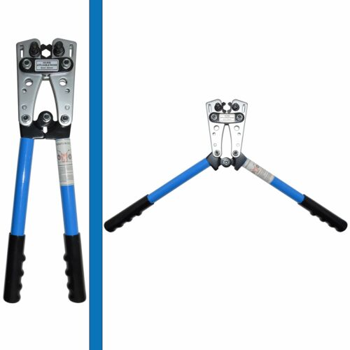 6 8 4 Professional Ele... 2 Wire Crimper and Cable Cutter for 0 1 10 AWG