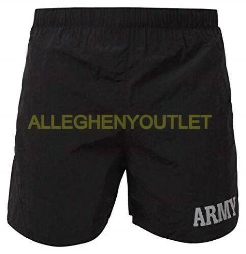 USGI-Unicor-Military-ARMY-IPFU-PT-Physical-Training-Shorts-Black-3XL-NEW-w-Tag