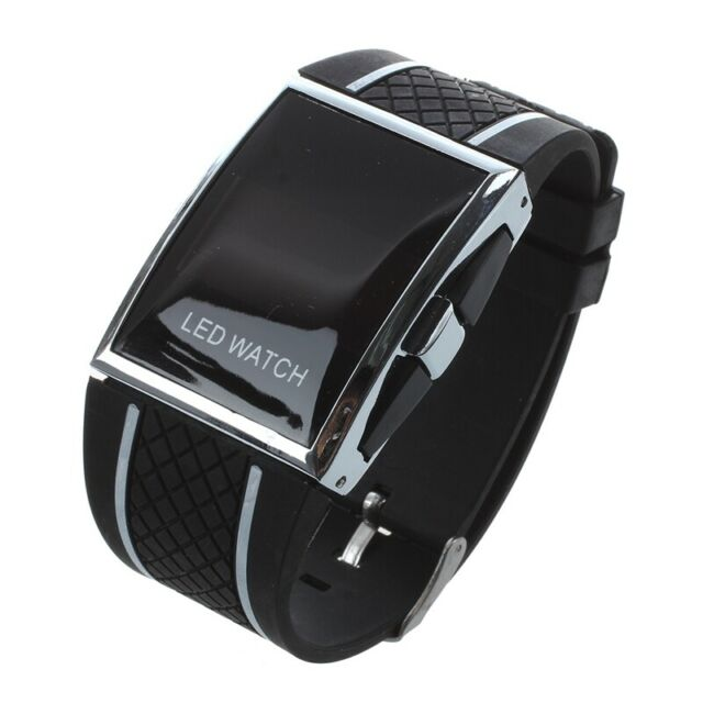 Neu LED Uhr Luxux und Fashion Frauen Digital Sport Armband Armbanduhr für D I5B2