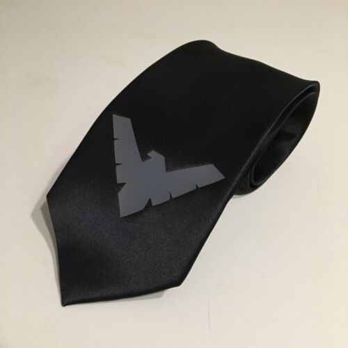 Gray Design Nightwing Really Cool Necktie