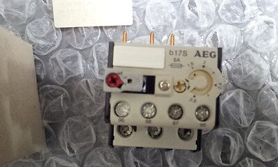 AEG b17S 0.12-0.18A THERMAL OVERLOAD RELAY 910-341-922