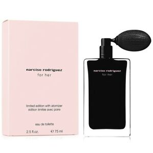 Narciso Rodriguez 2.5 oz / 75 ml For Her Eau de Toilette Spray With Atomizer