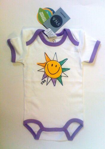 62 68 98 Neuware Sanetta Body Girl ½ Arm Sonne Gr