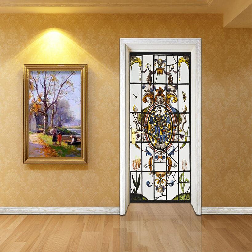 3D Muster 740 Tür Wandmalerei Wandaufkleber Aufkleber AJ WALLPAPER DE Kyra | Exquisite (in) Verarbeitung  | Adoptieren  | Vogue