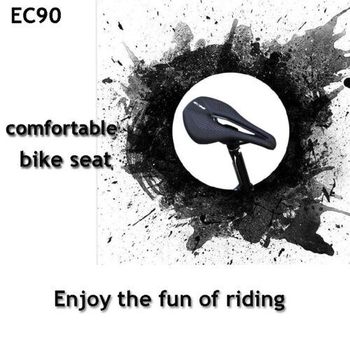EC90 MTB Road Bike Saddles Seat Bicycle Steel Bow Saddle Cushion Gel SoftLeather