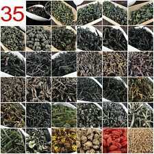 35 Different Organic Chinese Tea including Oolong Puer Black Green Tea Gift 215g