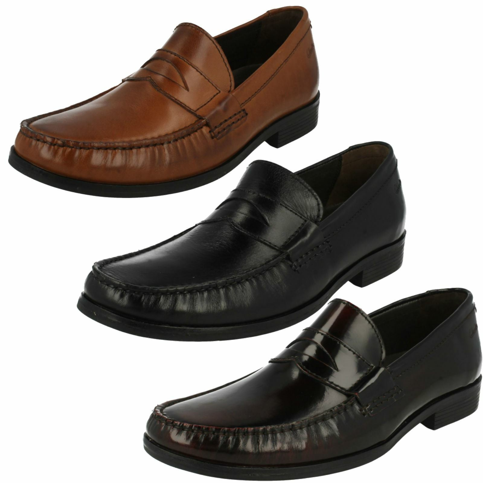 Mens Clarks Smart Loafers Cantin Sole