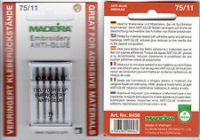 Organ Anti Glue 5 Sticknadeln 130/705H-E LP Stärke 75 verringert Kleberückstände