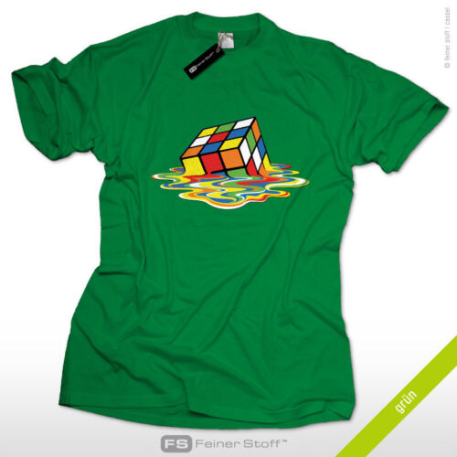 Melting Cube Sheldon/'s Fan T-Shirt as seen@ TV Nerd big bang theory Zauberwürfel