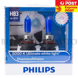 9005 HB3 halógenas HID Bombillas Philips Diamond Vision Par