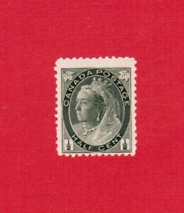 1898   # 74  FNH  TIMBRE CANADA  STAMP  QUEEN VICTORIA NUMERAL ISSUE   MS19