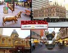 Australia - Adelaide - RUNDLE MALL - Travel Souvenir FLEXIBLE Fridge MAGNET