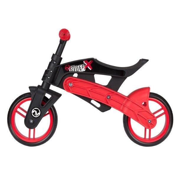 NEU Laufrad Kinder 2-4 Jahre leichter bruchsicherer Kunststoff Rahmen - schwarz