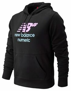 New-Balance-Para-hombre-negra-con-capucha-apilados-numerico
