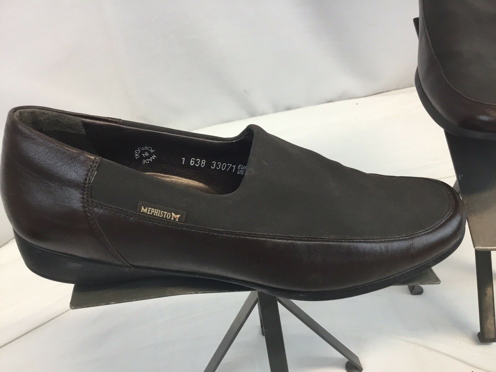 Mephisto schuhe Made Sz 11 damen braun Leather Slip On Made schuhe Portugal Mint YGI L8S-200 dbc42a