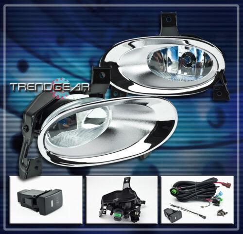 10 11 HONDA CR-V JDM FOG LIGHTS LAMP W//COVER+OEM SWITCH