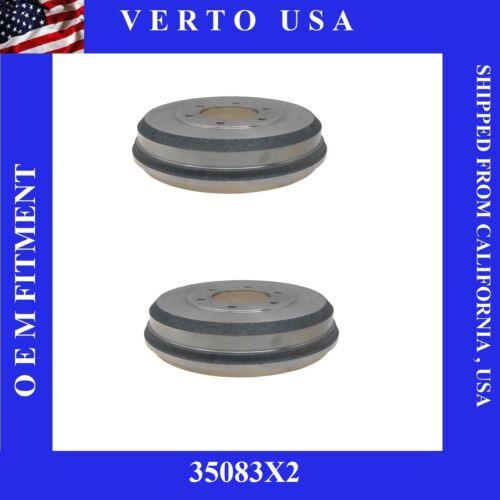 Set Of 2 Premium Rear Drums  35083X2